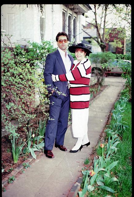 Family  Mark & Vicky 80s - Kodachrome 64