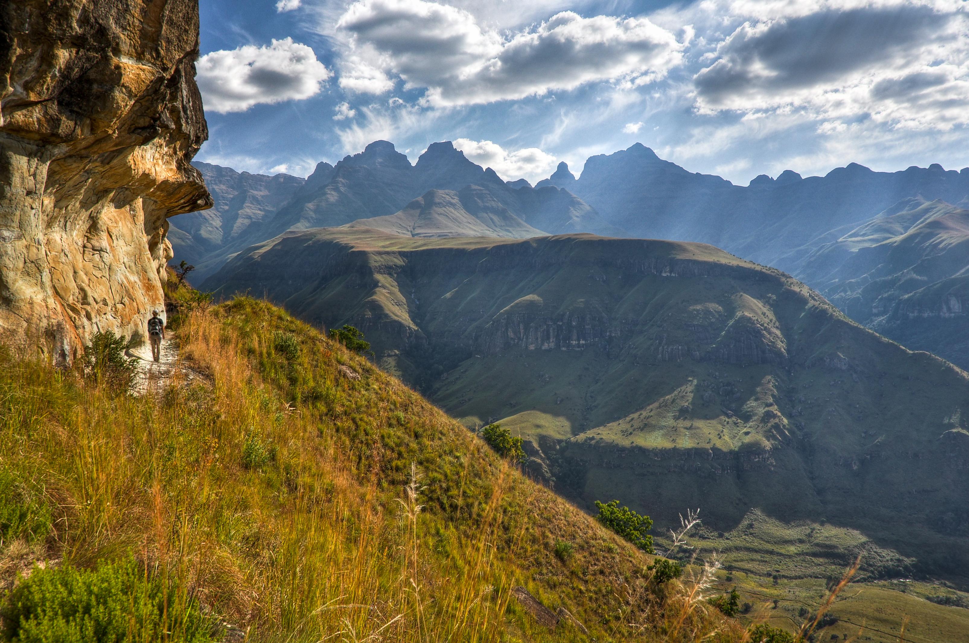 Best Garden In The World Cathedral Peak Area Trail Ukhahlamba Drakensberg National
