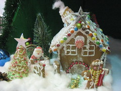 gingerbread house, christmas decoration, gingerbread, food, christmas,