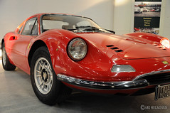 race car, automobile, vehicle, automotive design, ferraris, dino, ferrari s.p.a., antique car, land vehicle, supercar, sports car,