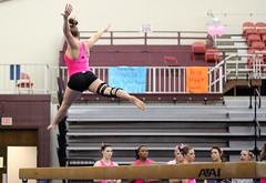 TWU Gymnastics Beam - Sara Grunert