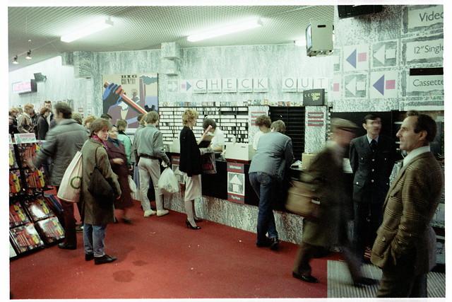 hmv Nottingham 1986