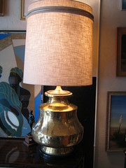 lamp, light fixture, lampshade, lighting,