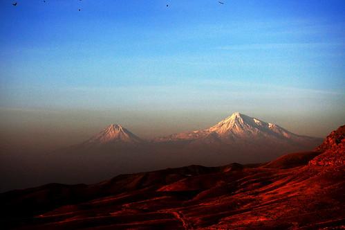 sunrise armenia mountararat mountararad