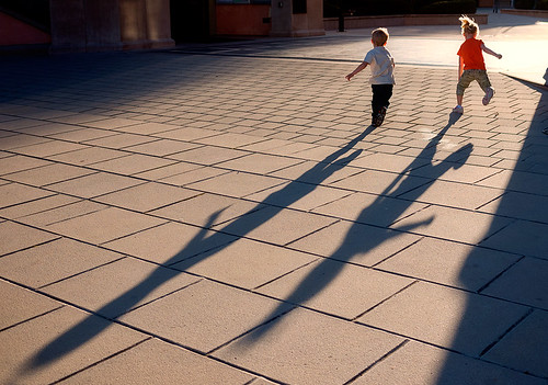 Children and Shadows | by Abe K