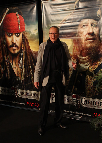 Geoffrey Rush de pirates of the caribbean