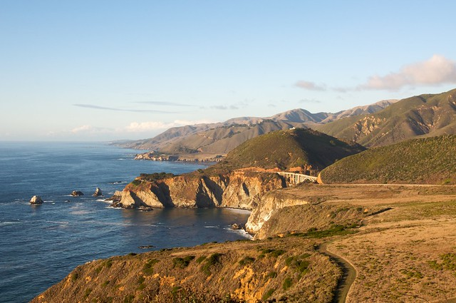 Pacific Coast Highway in California by CC user bribri on Flickr
