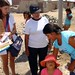 Volunteering at a free health clinic in Tacna, Peru