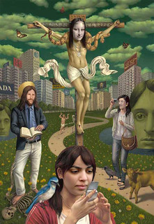 Dreamscape (fake) by Alex Gross