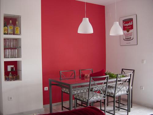 Atc en casa de mariola tr s studio blog de decoraci n for Pared color cereza