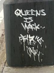 Graffiti at 23rd St and 43rd ave