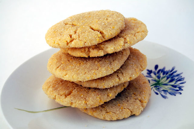 lemon cornmeal cookies | Flickr - Photo Sharing!