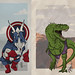 The Avengersaurs. by d.r3sto