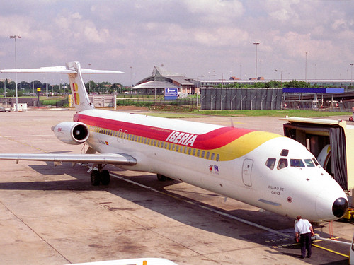 456 Manchester 21-8-94 Iberia MD87