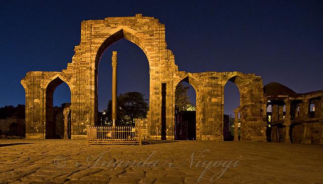 The Mehrauli Iron Pillar   Flickr - Photo Sharing!