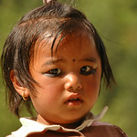Charcoal Eyes - Annapurna Circuit, Nepal