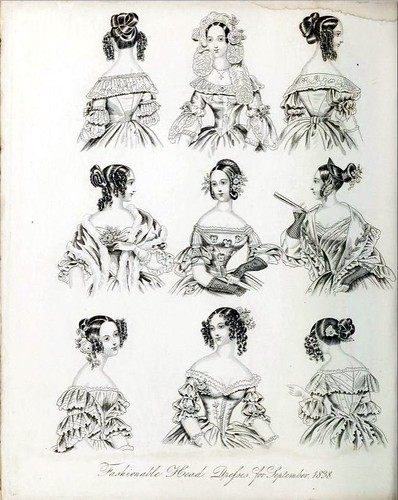 The World of Fashion and Continental Feuilletons 1838 Plate 39