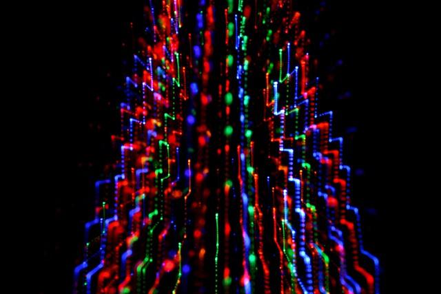 cascading christmas lights flickr photo sharing