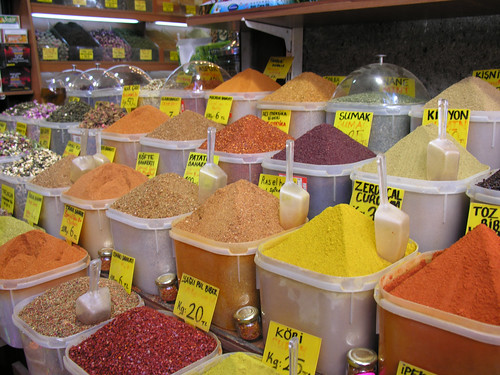 Isztambuli Fűszer Bazár (Mısır çarşı)