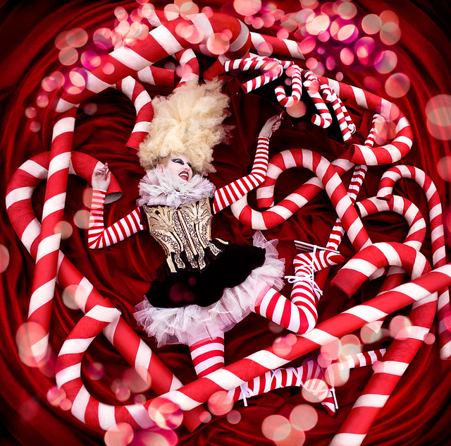 Kirsty Mitchell - Wonderland : The Candy Cane Witch