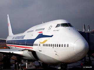 TG Boeing 747