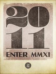 2011 - Enter MMXI print