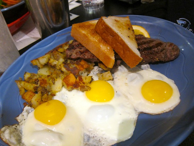Steak and Eggs | Sophie's Cosmic Cafe