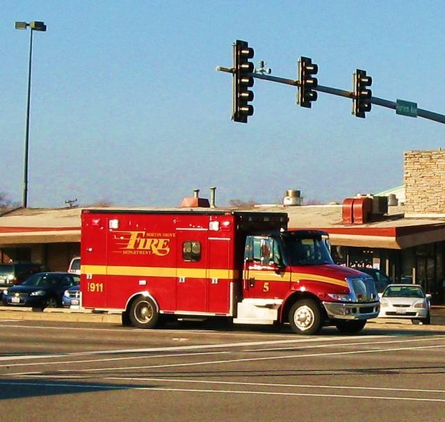 City Of Morton Illinois: Morton Grove Fire Department International Ambulance Truck