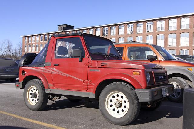 Did Suzuki Samurai Wd Have A Hi And Low Gear