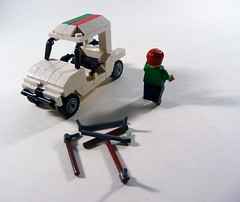 Octan Racing Golf Cart. by Lego Junkie.