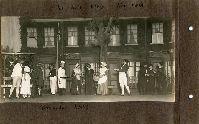 1st Hall Play Nov 1913; Pomander Walk