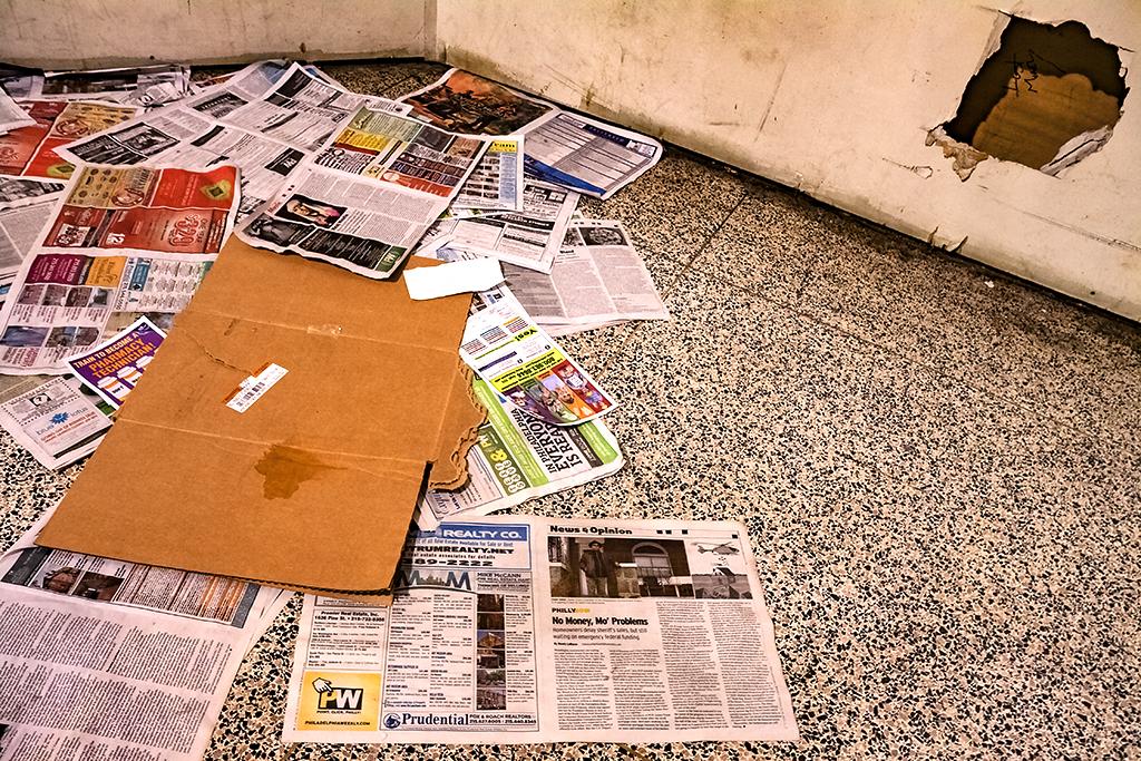 Newspaper-inside-Suburban-Station--Center-City-2