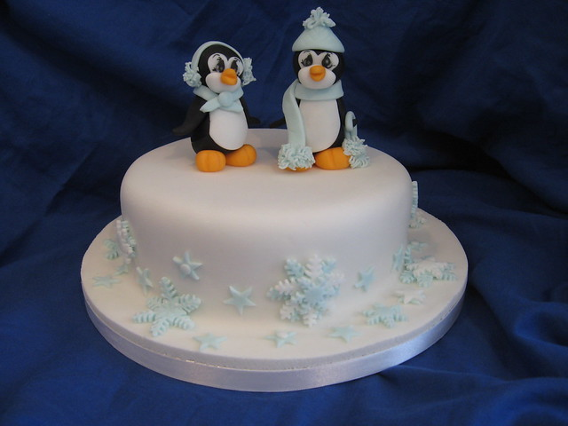 Christmas Cake Ideas With Penguins : Penguin Christmas Cake Flickr - Photo Sharing!