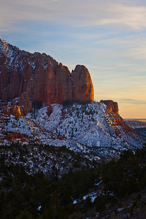 Shuntavi Butte - Kolob Canyon - Zion National Park - 1-14-11  02