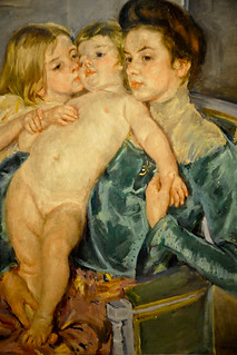 Mary Cassatt - The Caress, 1902 at Smithsonian American Art Museum Washington DC | by mbell1975