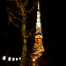Tokyo Tower as seen from Zojoji Temple