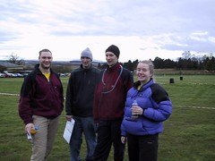 Simon, Kev, Greg & Claire before the event Image