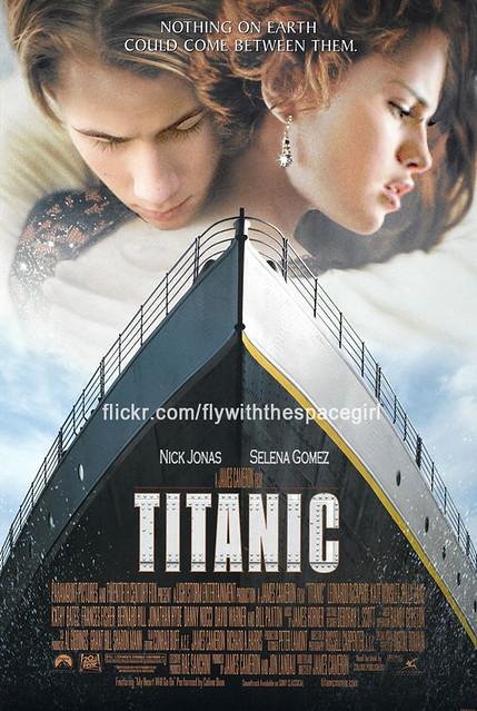 nelena - titanic poster
