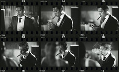 The groom's portrait - 2pm - contact sheet pictures 13-18