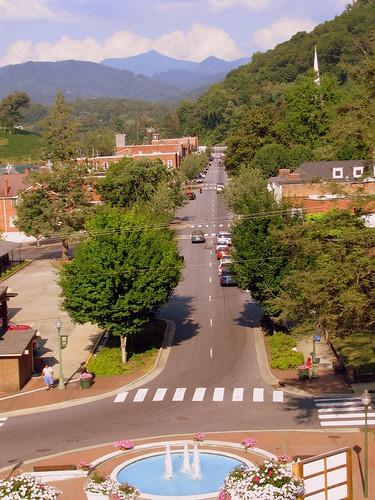 nc mainstreet view northcarolina mainst sylva jacksoncounty bmok bmokw