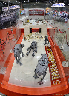 Lego Battle of Hoth - Fisheye