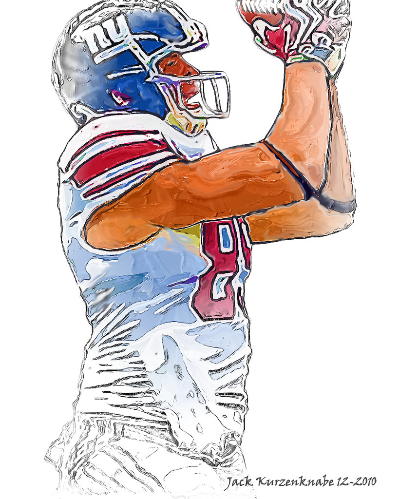 0 New York Giants Kevin Boss | View all my NFL drawings by t