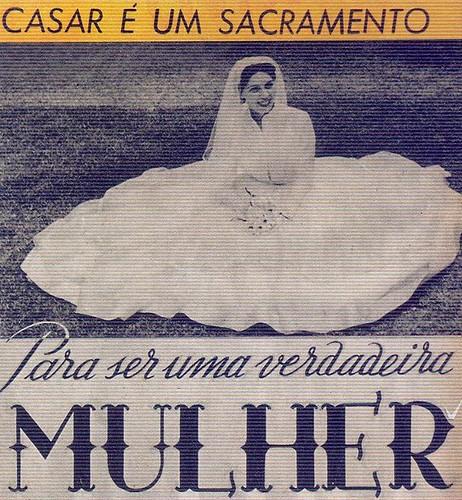 Menina e Moça, Nº 167, Janeiro 1962, Casar é um Sacramento