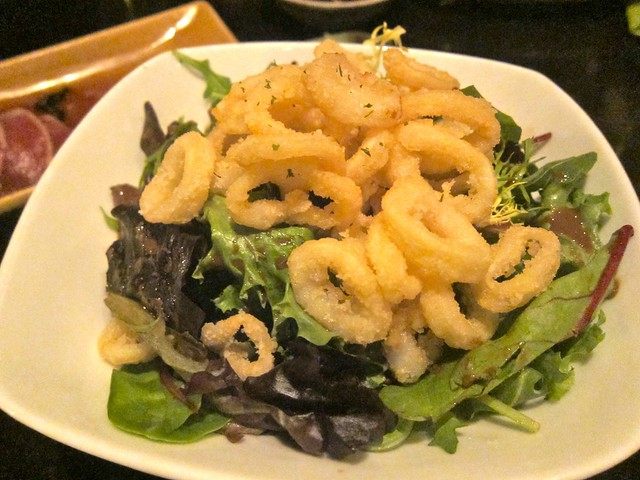 Calamari Salad | Alpha Global Sushi & Bar