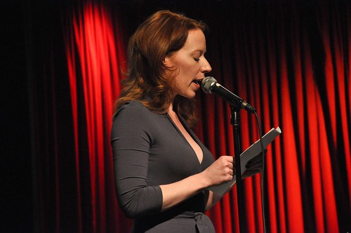 Emily Ackerman at Mortified