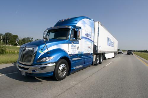 Walmart's Full Hybrid Truck