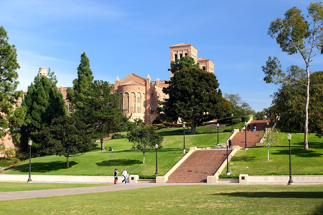UCLA Campus - Janss Steps