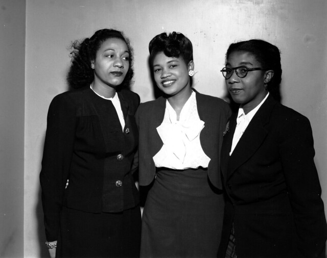 Maida Kemp and two other American women by http://www.flickr.com/photos/kheelcenter/