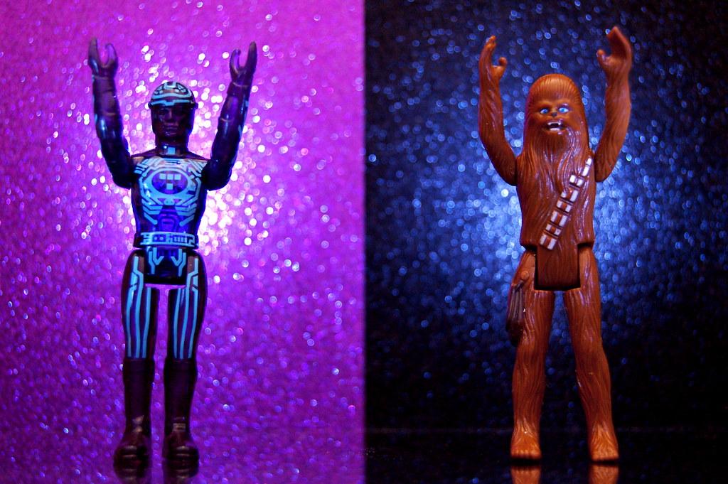 Tron vs. Chewbacca (357/365)