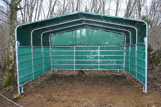 Portable Shelters Farm : Jan horse shelter portable flickr photo sharing